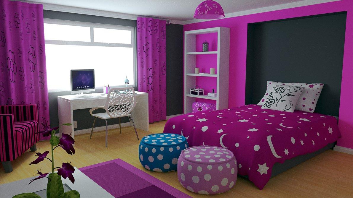بالصور غرف بنات كبار , غرف نوم عصريه لبنات كبار 5127 21