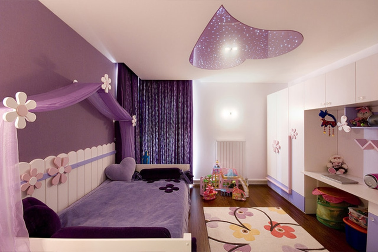 بالصور غرف بنات كبار , غرف نوم عصريه لبنات كبار 5127 24
