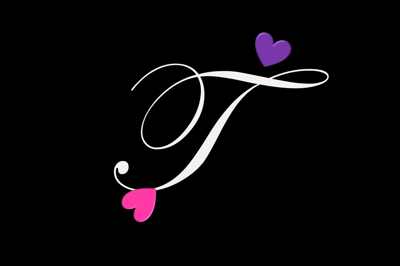 صور حرف T اشكال مزخرفه بها حرف ال T كلمات جميلة