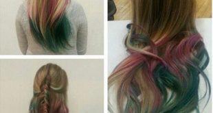 صوره كيفية صبغ الشعر , تغيير لون الشعر