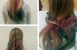 صورة كيفية صبغ الشعر , تغيير لون الشعر