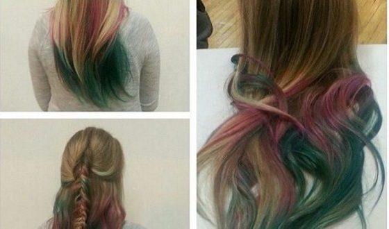 صور كيفية صبغ الشعر , تغيير لون الشعر