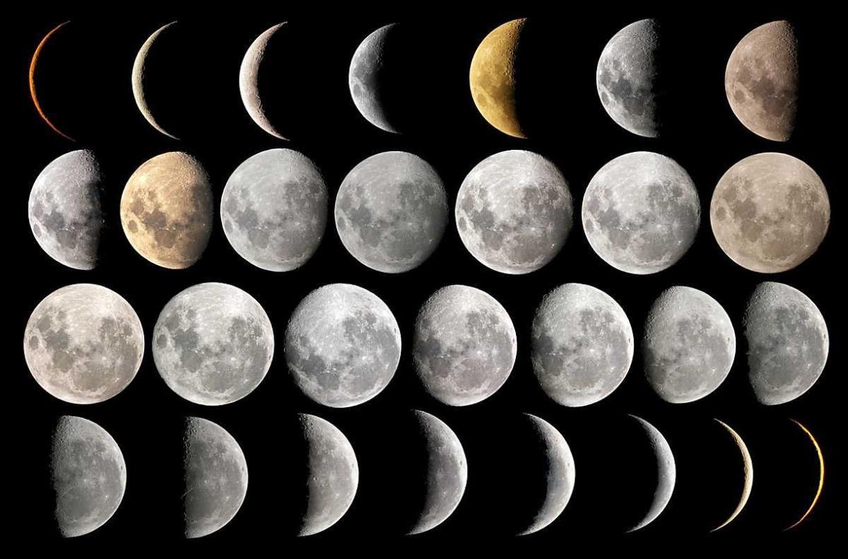 بالصور منازل القمر , اطوار ومراحل القمر 582 1