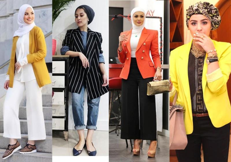 صور تنسيق الملابس للمحجبات , كيف تكوني مميزة في ملبسك