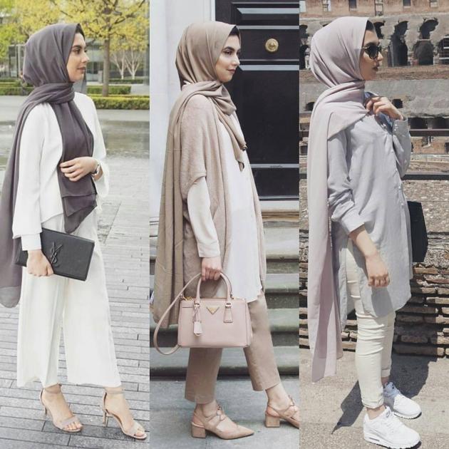 بالصور لبس بنات محجبات , اجمل ملابس للمحجبات 622 1