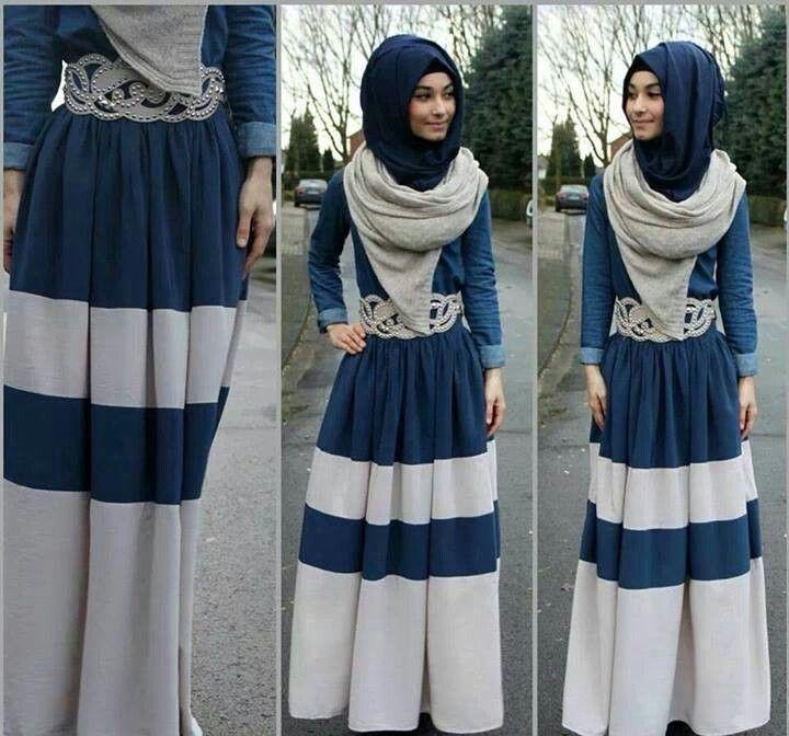 بالصور لبس بنات محجبات , اجمل ملابس للمحجبات 622 10