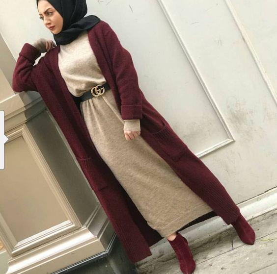 بالصور لبس بنات محجبات , اجمل ملابس للمحجبات 622 11
