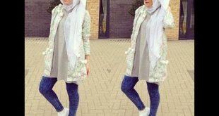 صورة لبس بنات محجبات , اجمل ملابس للمحجبات