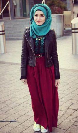 بالصور لبس بنات محجبات , اجمل ملابس للمحجبات 622 2
