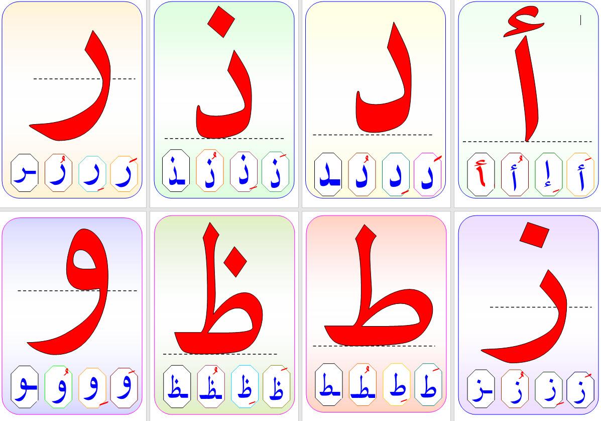 صورة الحروف العربية بالصور , صور الحروف للاطفال 11862 5