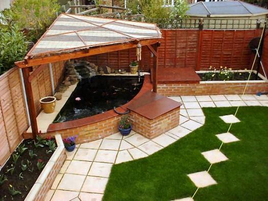 بالصور تصميم حدائق منزلية صغيرة , ديكورات جميلة للحدائق 11952 10