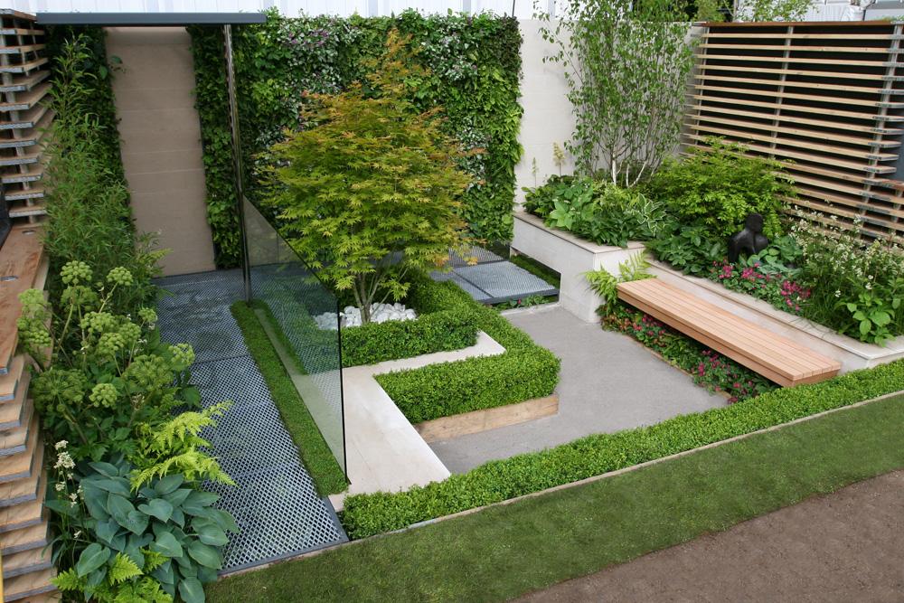 بالصور تصميم حدائق منزلية صغيرة , ديكورات جميلة للحدائق 11952 2
