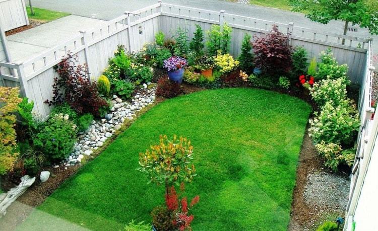 بالصور تصميم حدائق منزلية صغيرة , ديكورات جميلة للحدائق 11952 4