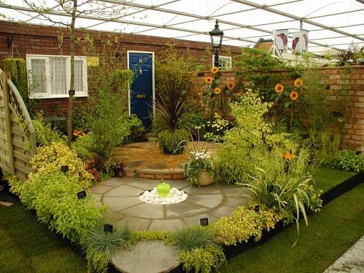 بالصور تصميم حدائق منزلية صغيرة , ديكورات جميلة للحدائق 11952 5