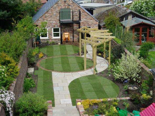 بالصور تصميم حدائق منزلية صغيرة , ديكورات جميلة للحدائق 11952 7