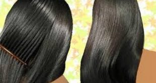 صور عشبة النيلة لتسويد الشعر , كيفية صبغ الشعر باللون الاسود