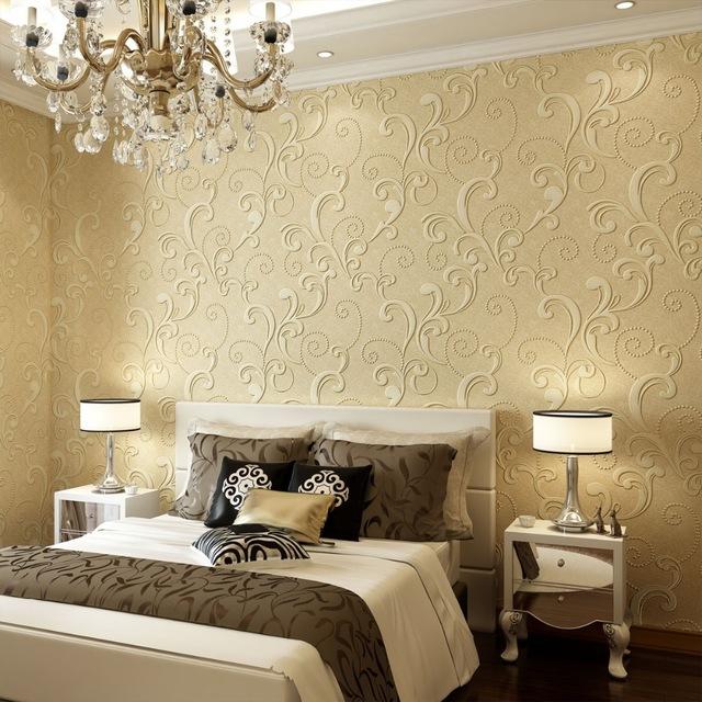 صورة ورق جدران غرف نوم , اجمل الديكورات