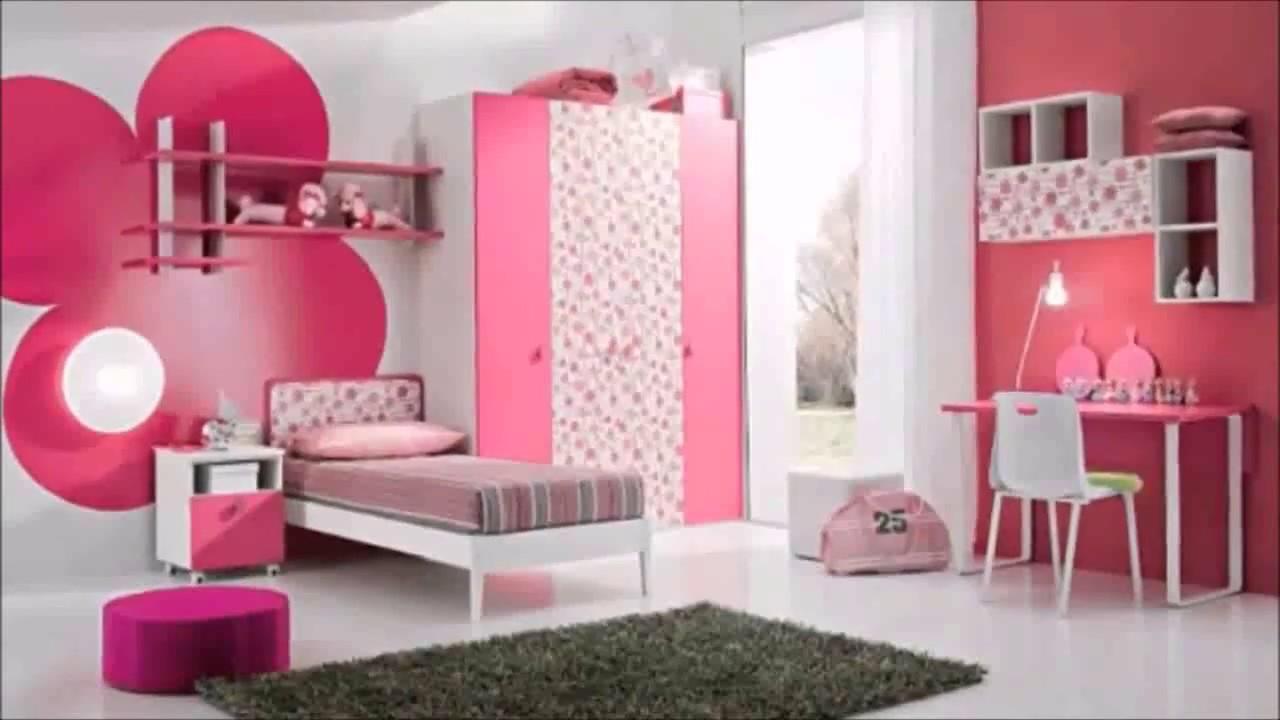 صورة ديكور غرف نوم بنات , الوان ديكور بناتى