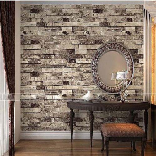 بالصور ورق جدران حجر , جمال وروعة الديكورات 1448 5