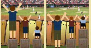 صورة الفرق بين العدل والمساواة , العدل والمساواة وجهان لعملة واحدة