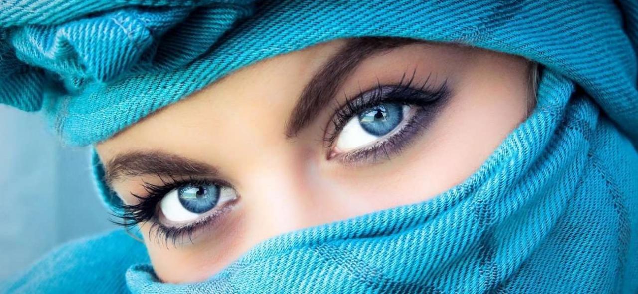صورة اجمل عيون , سبحان الخالق يا لها من عيون جذابة 1232 8