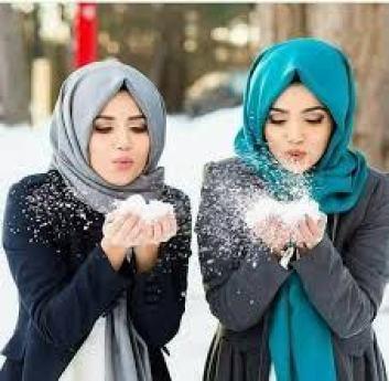 محجبات انستقرام الجحاب زينه للمراة كلمات جميلة