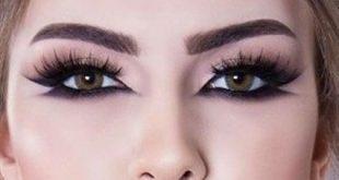 صورة مكياج عيون خليجي , مكياج للعيون علي الطريقة الخليجية