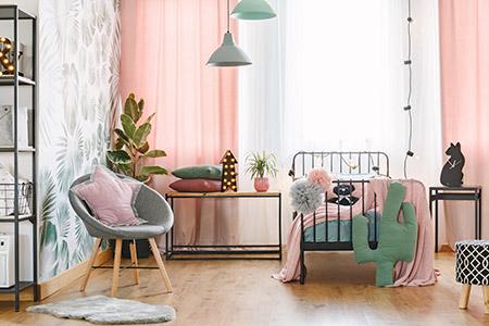 صورة ديكورات غرف نوم بنات , غيري ديكور غرفتك باروع الافكار 3625 5