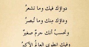 صورة شعر عربي فصيح , شعر فصيح باعذب الكلمات