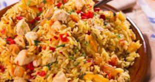 صورة طبخه سهله , طريقه عمل ارز بالدجاج