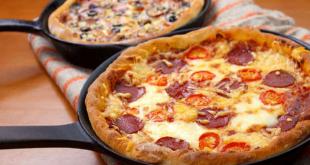 صورة عمل البيتزا , عجينة البيتزا في عشر دقائق