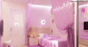 صورة غرفة نوم حديثة لبنتك , غرف نوم بنات اطفال