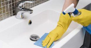 توجي حمامك بنظافته , تنظيف سيراميك الحمام شديد الاتساخ
