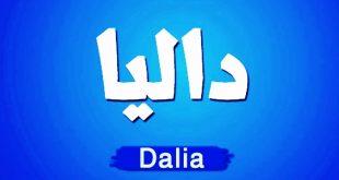 معنى اسم داليا , من الاسماء المفضلة